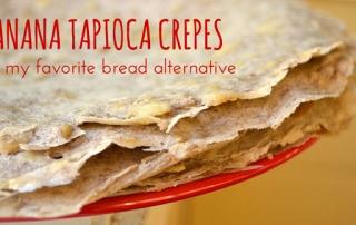 banana tapioca crepes