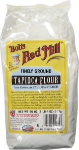 gluten free alternative flour tapioca flour