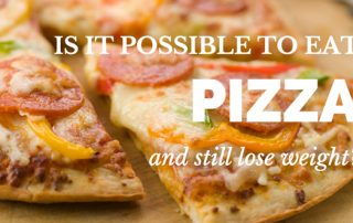 pizza and weight loss