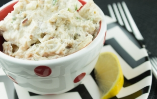 Garlic Tahini Chicken Salad