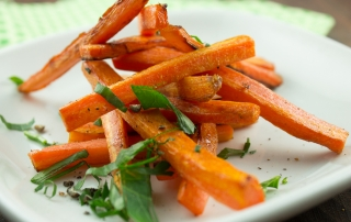 Honey Roasted Carrot Fries