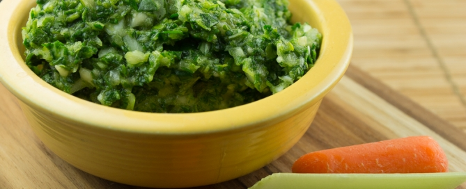 Raw Kale and Artichoke DIp