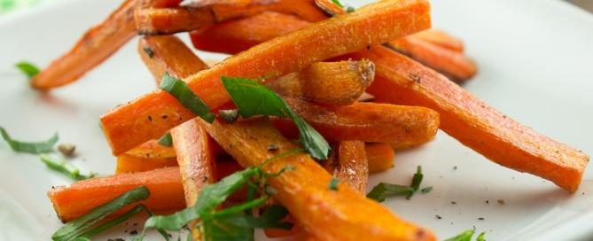 Honey Roasted Carrot Fries