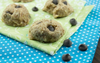 No Bake Chocolate Chip Cookies