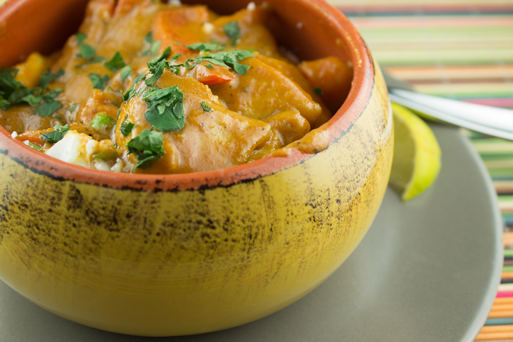 Slow Cooker Lamb Coconut Curry